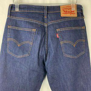 Levis Red Tab 513 Denim Jeans 30 32 Dark Wash Slim